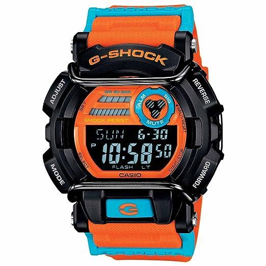 f8bee5ccf Casio - G-Shock - Case-Protector Faded Color Series - Naranja y Azul -  gd400dn-4  Casio  Amazon.es  Relojes
