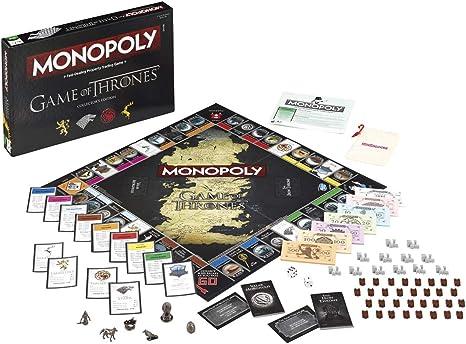 Juego de Tronos Monopoly - Edición, versión Inglesa: Amazon.es: Juguetes y juegos
