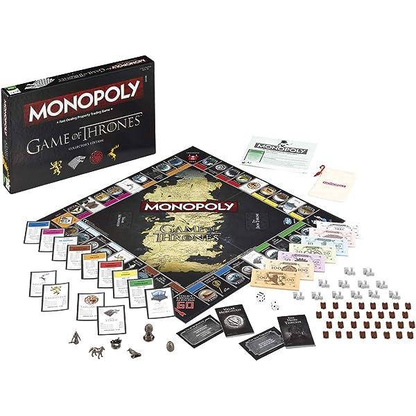 Monopoly Game of Thrones Collezione Versione Italiana Winning Moves