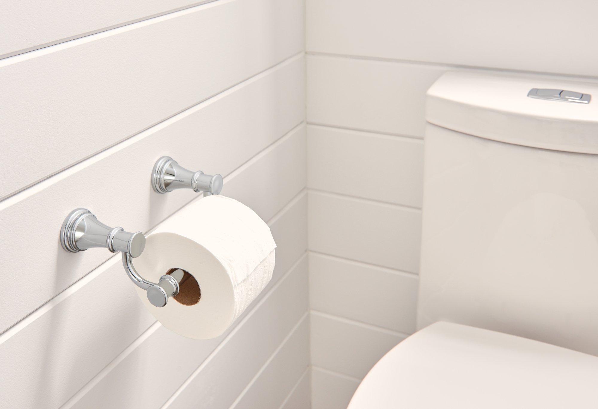 Moen YB6408CH Belfield Pivoting Toilet Paper Holder, Chrome by Moen (Image #2)