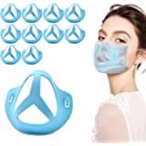 Luxtude Mask Breathe Cups, 3D Silicone Mask Bracket Inner Support Frame Mask Spacer Accessories, Breathing Mask Cup…