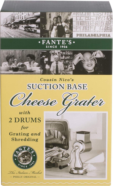 100/% Genuine AVANTI Lifestyle Rotary Drum Cheese Grater 18//10 S//S RRP $53.95!