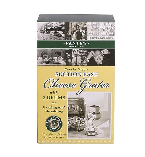 Amazon.com: La prima de fante Nico Rotary rallador de queso ...
