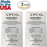 Bone Meal Steamed Powder for Dogs and Cats 2 Pack Total 2 Pounds from Upco Bone Meal Made in USA