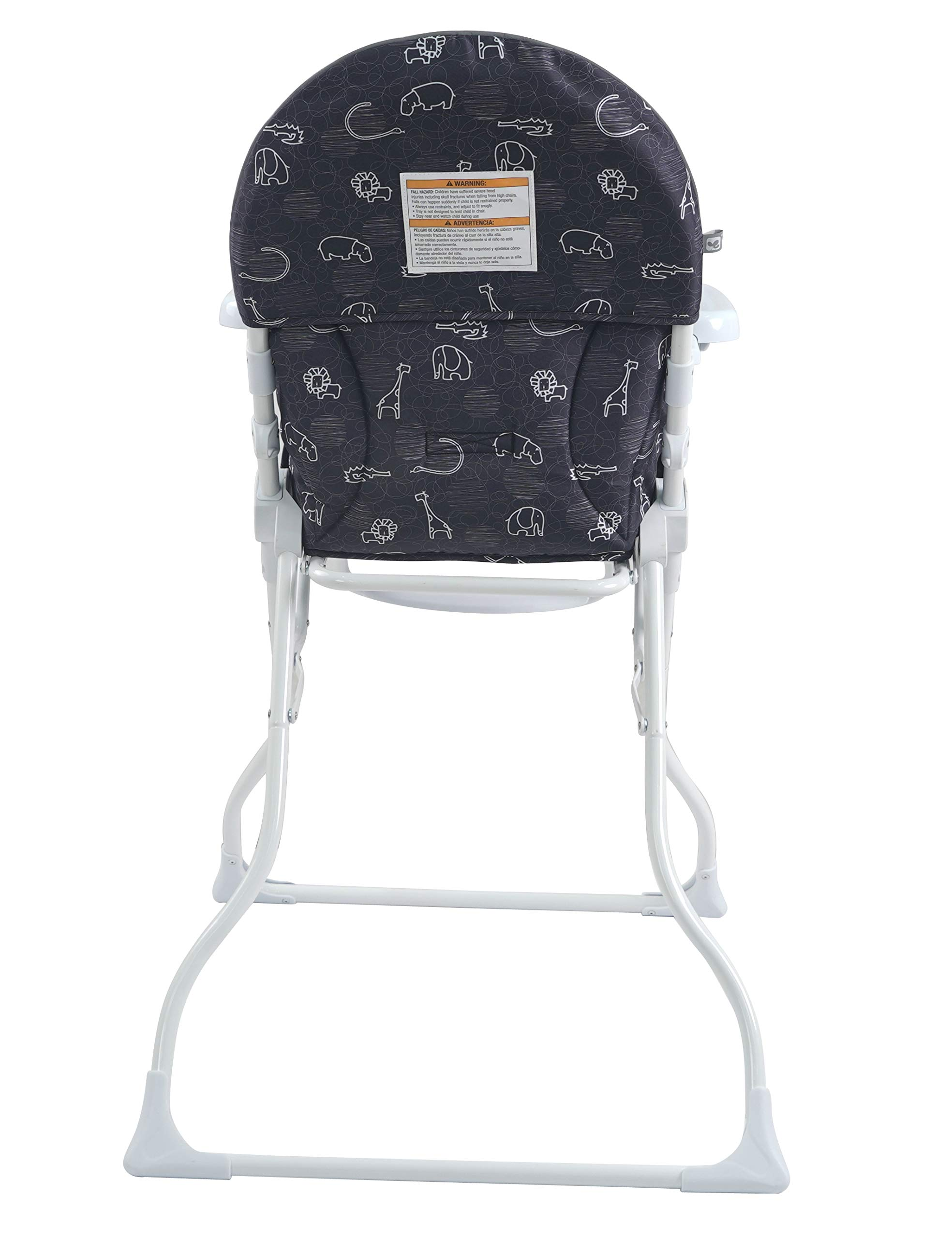 Pamo Babe Portable Fold High Chair (Black&White) by Pamo Babe