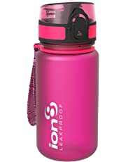 Ion8 Bouteille d'eau étanche/Bouteille d'eau, sans BPA, 350ml / 12oz