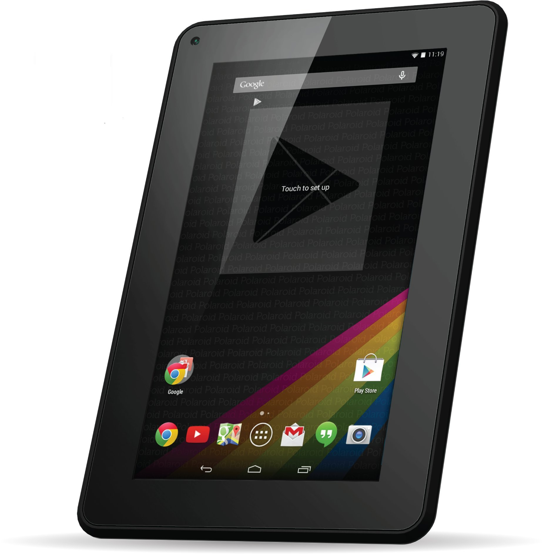 "Polaroid PTAB735 7"" Android 4.4 KitKat Tablet With Google Play, Dual-Core, Dual Cameras"