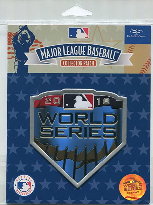 Official Licensed 2018 MLB World Series Patch Boston Red Sox vs Los ... 62962d20ee8