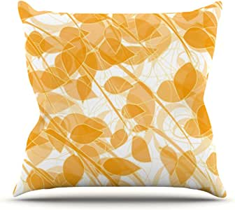 Kess InHouse Anchobee Summer Outdoor Throw Pillow, 16 by 16-Inch