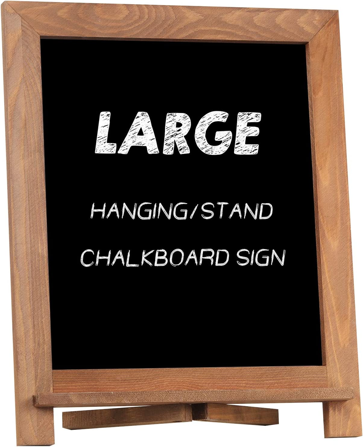 Amazon Com Rustic Chalkboard Sign Nearpow 15 X12 Tabletop Stand And Wall Hanging Display Solid Pine Wood Frame With Smooth Magnetic Surface Chalk Board Easel For Home Decoration Wedding Kitchen Menu Brown Home Kitchen