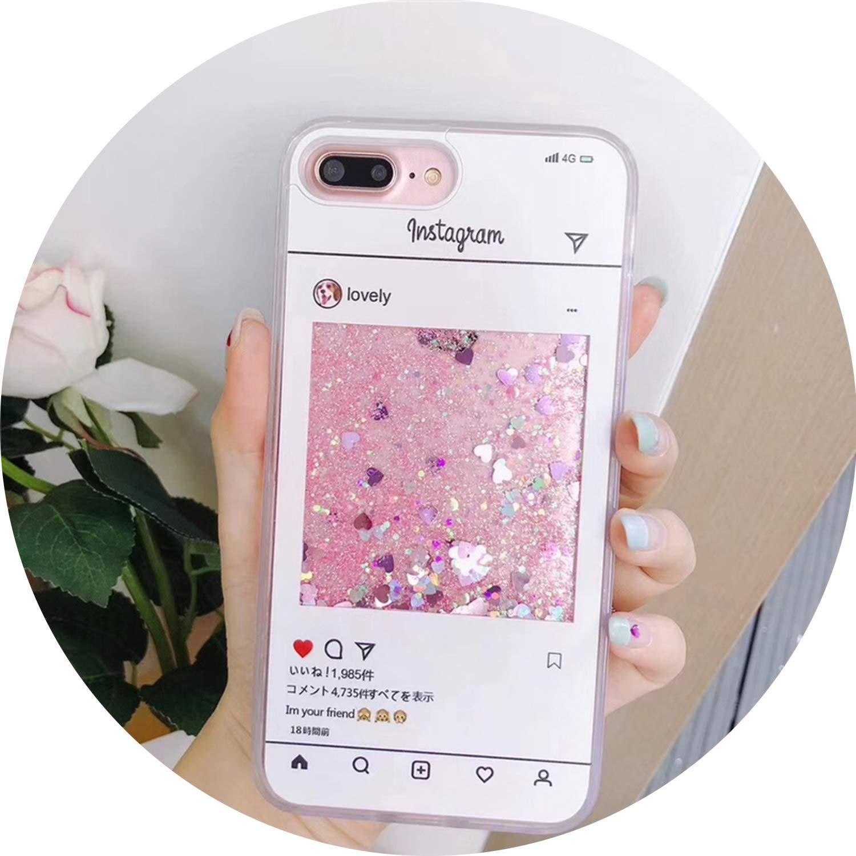 Amazon.com: Funda líquida con purpurina para Huawei Honor 10 ...