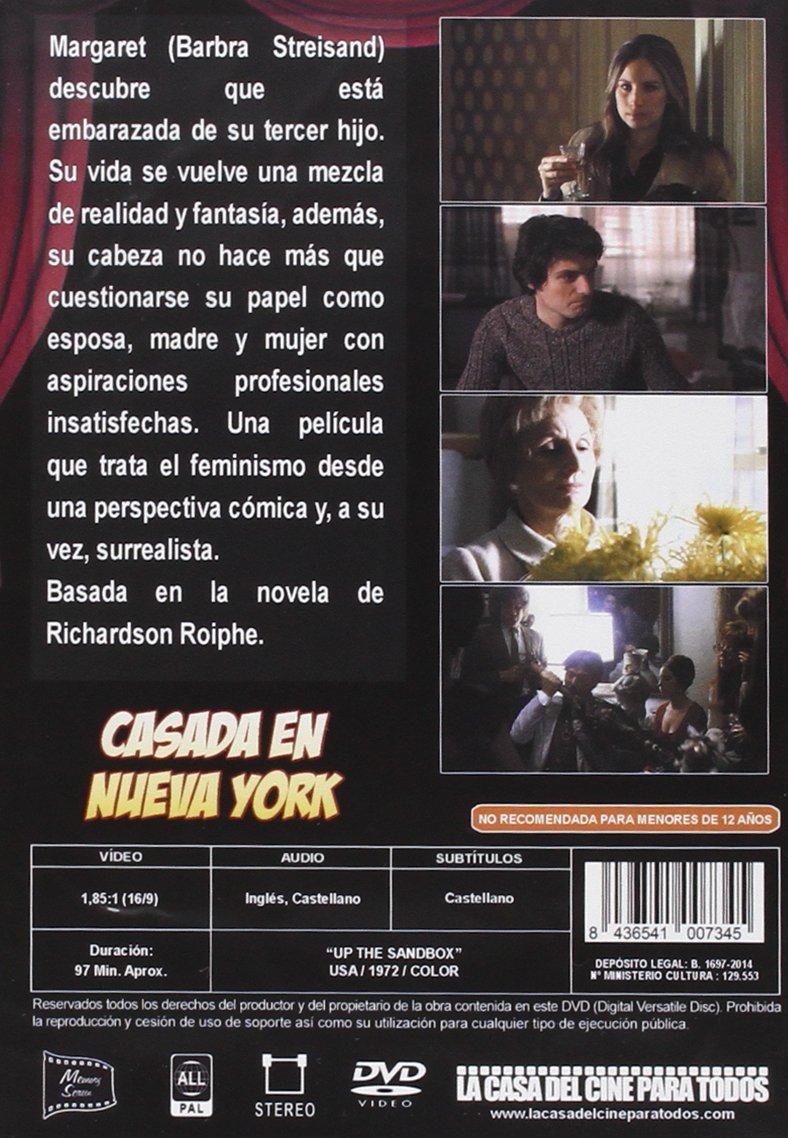 Casada En Nueva York [DVD]: Amazon.es: Barbra Streisand, David Selby, Ariane Heller, Irvin Kershner: Cine y Series TV