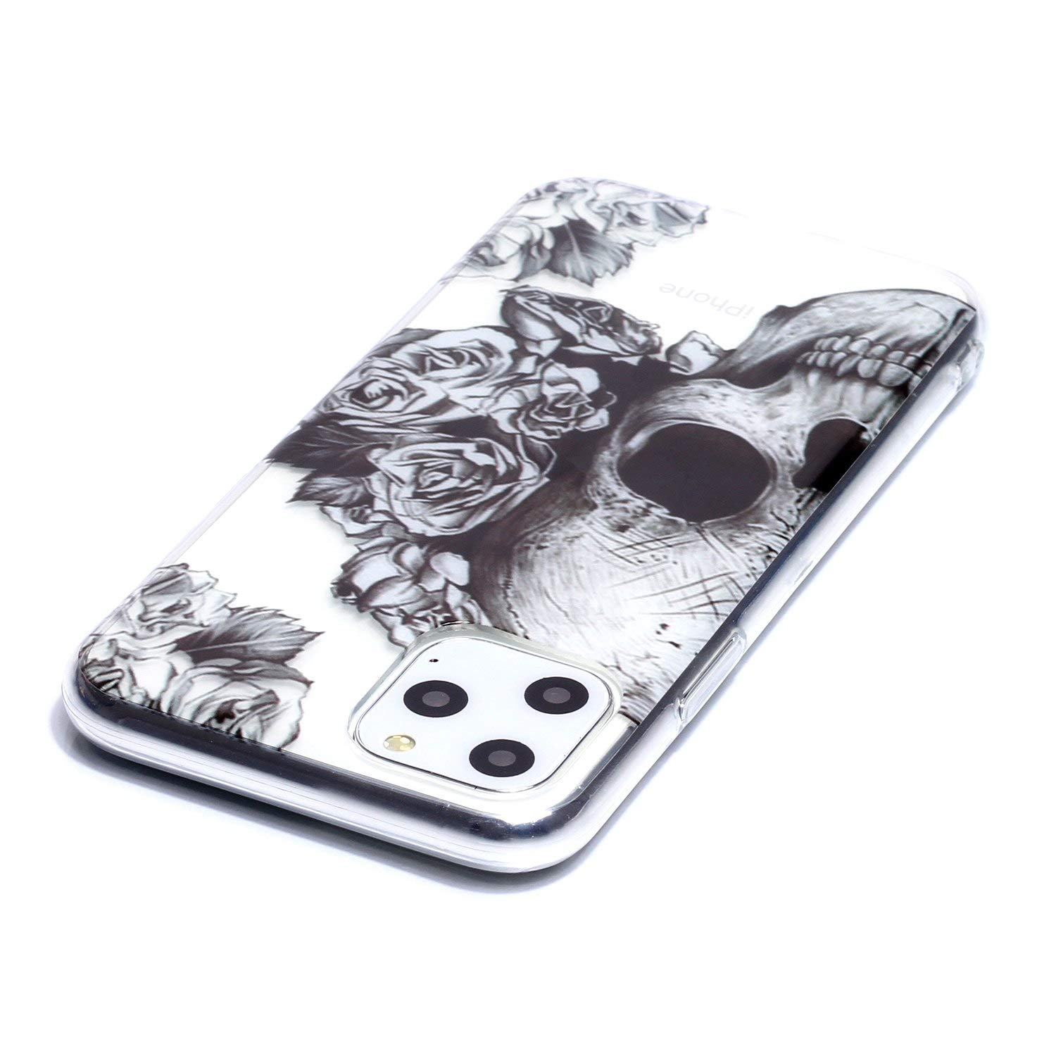 Reevermap iPhone 11 Pro Case Clear Soft Silicone Phone Case Slim Fit Flexible Lightweight Shockproof TPU Rubber Bumper Cover for iPhone 11 Pro