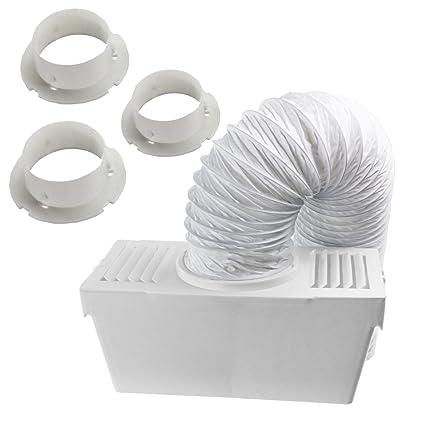 Spares2go Manguera De Ventilación Del Condensador Kit con 3 x ...