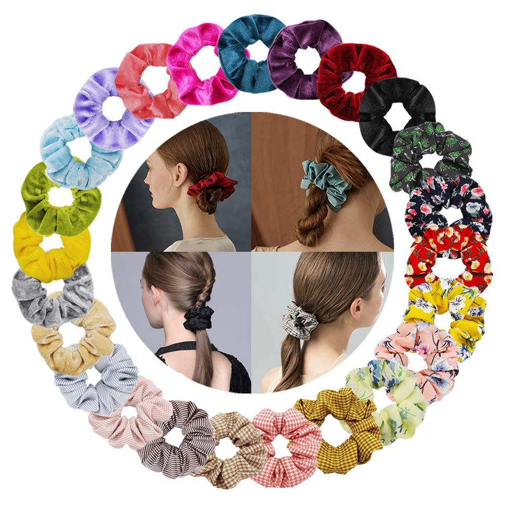 Cinta para el cabello de las damas en 8 patrones diferentes cinta el/ástica para el cabello Style 2