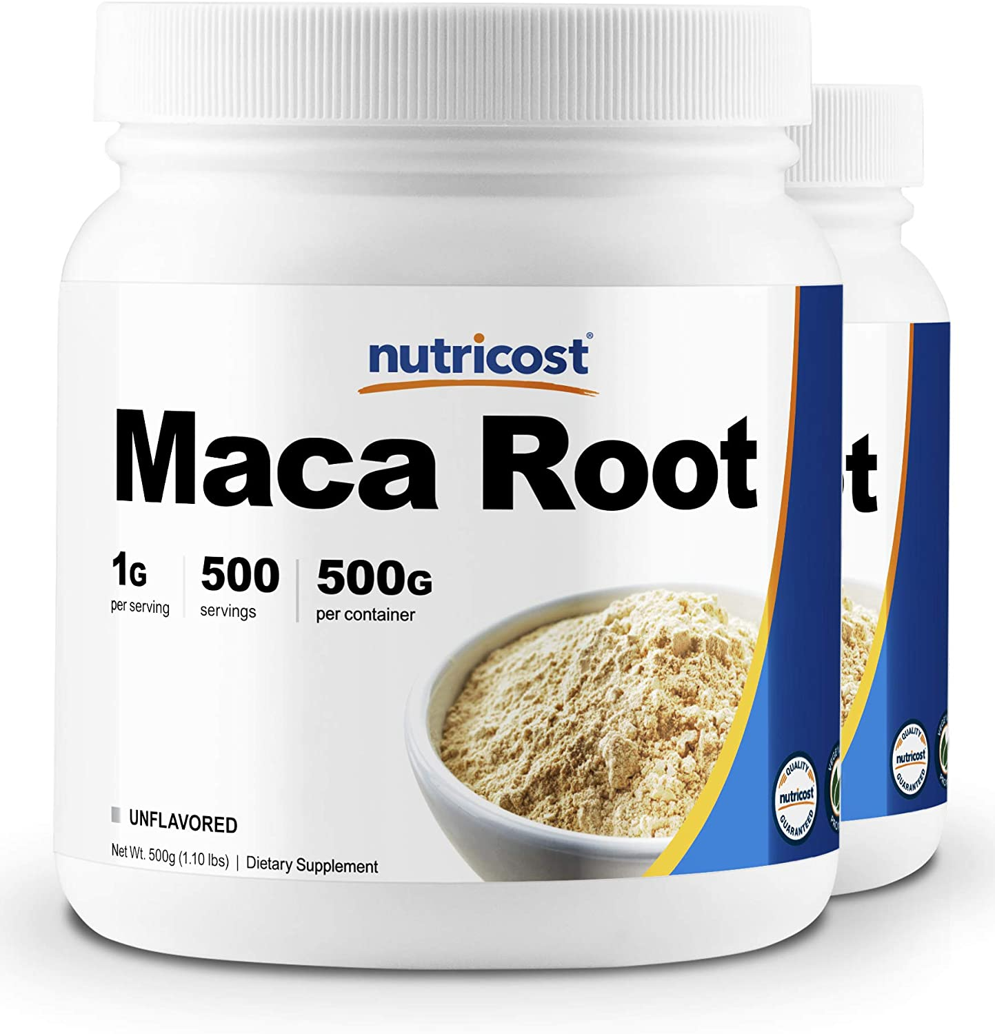 Nutricost Pure Maca Root Powder 500 Grams 2 Pack
