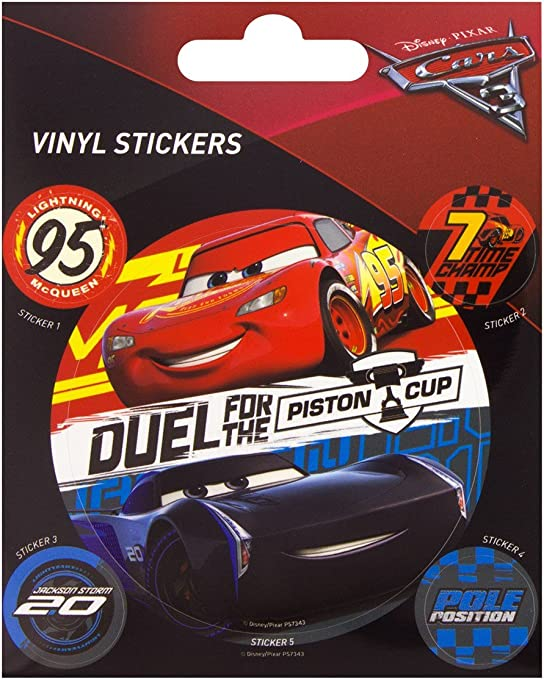 Amazon Com Cars 3 The Movie Duel For The Piston Cup Sticker