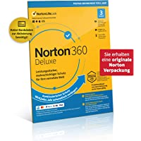 Norton 360 Deluxe 2021   3 Device   1 Year Subscription with Automatic Extension   Secure VPN and Password Manager   PC…