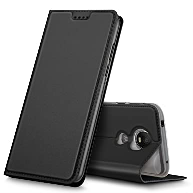 cheaper 1c99b 1e229 iBetter Moto G6 Play Case, High Quality Magnetic Flip Case Cover Well Full  Range Protection Dirty Resistant Comfortable Hand Feeling with Stand ...