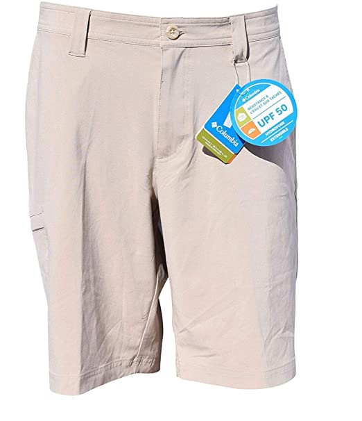 classic style reliable reputation run shoes Columbia Men's Angus Springs Omni-Shade Shorts Regular Fit UPF 50