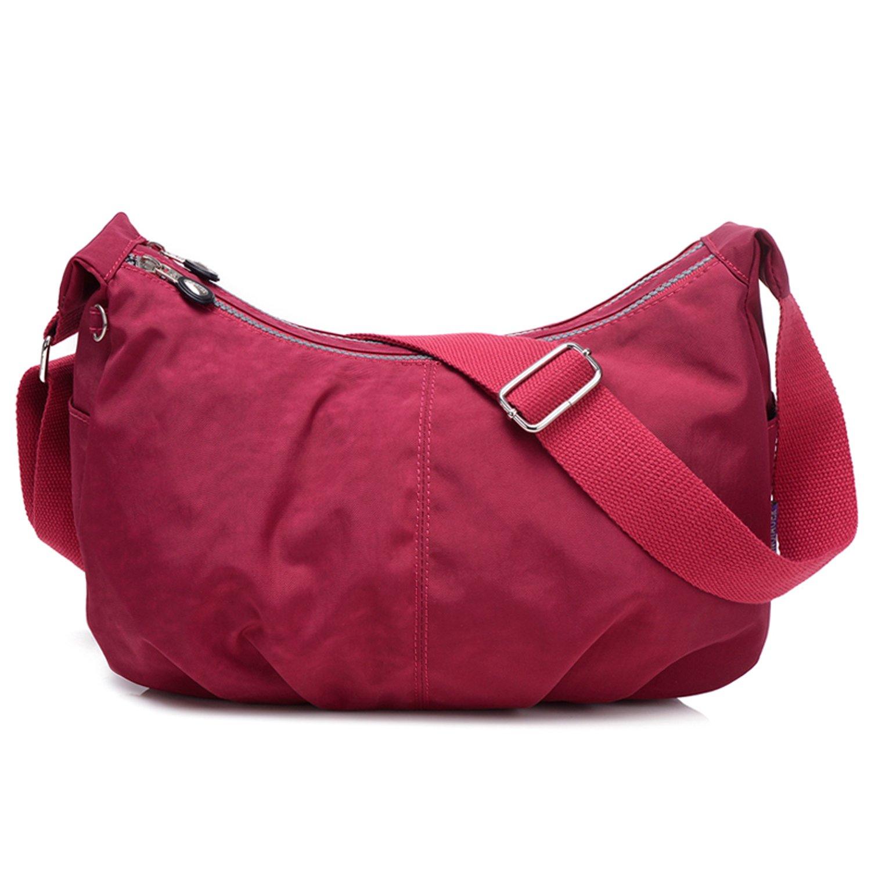 Outreo Sac Besace Femme Sac bandoulière Sacoche de Mode Léger Sac Porté épaule Imperméable Sac à Main Loisir pour Fille Sport Bag Petit