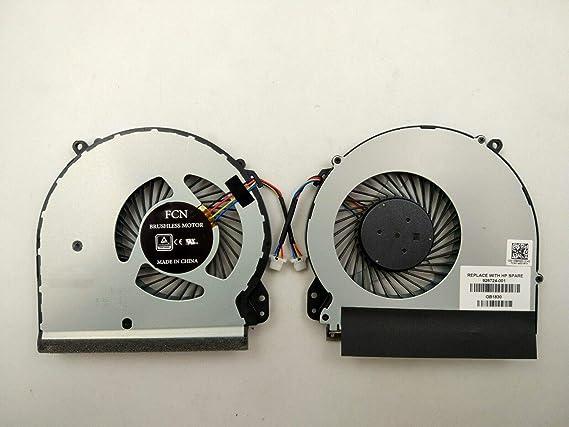 3CTOP - Ventilador de CPU para Ordenador portátil HP Notebook 17-X 17-Y Series 926724-001: Amazon.es: Informática