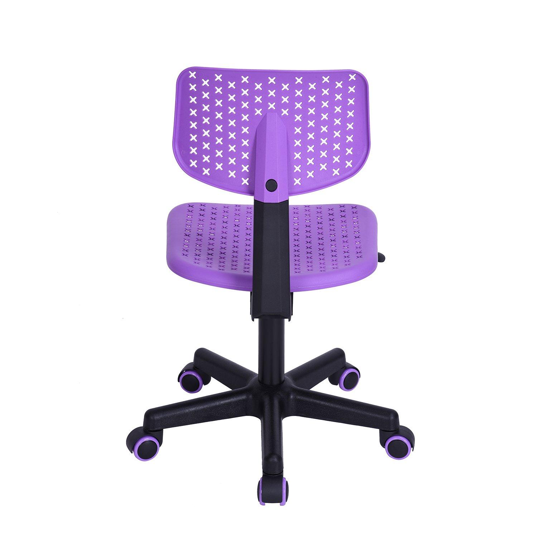 Sillas de escritorio FurnitureR silla para niño Low-back ajustable ...