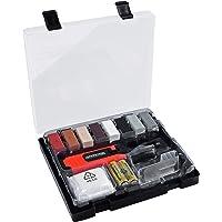 Werkzeyt Tegelreparatieset 14-delig - 8 verschillende tinten - incl. wassmelter, schaaf en schuurspons - Geschikt voor…