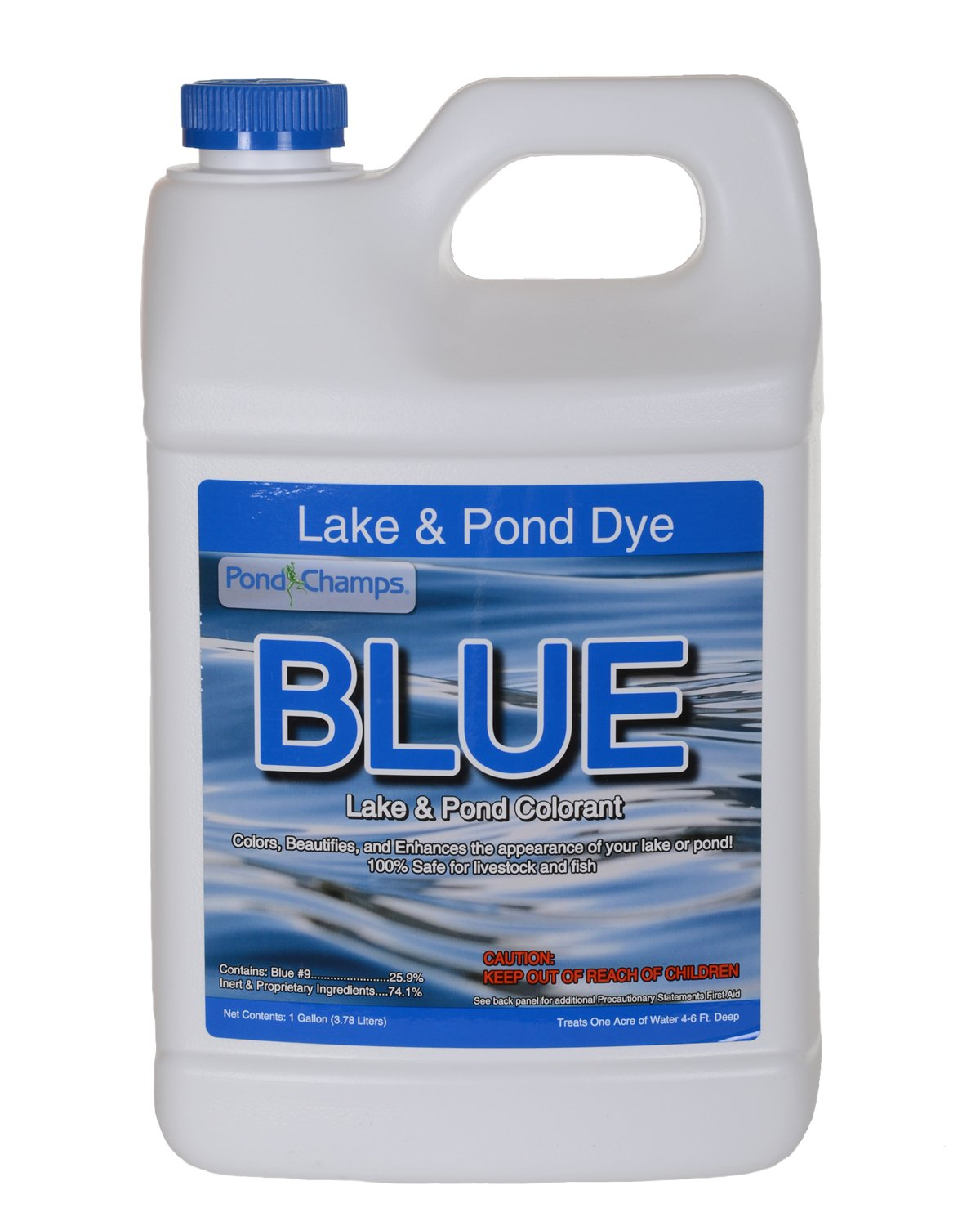 Blue Lake and Pond Dye - 1 Gallon by Pond Champs