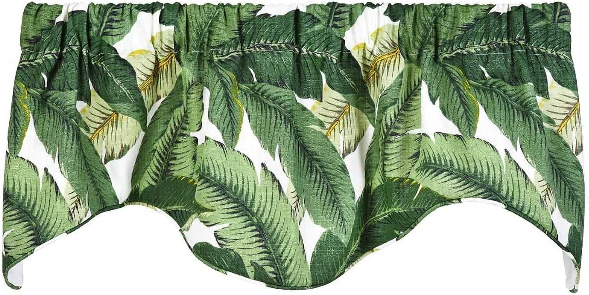 Decorative Things Window Treatments Valance Curtains Kitchen Window Valances or Living Room Tommy Bahama Fabric