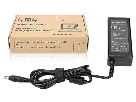 Wessper 404Brand Cargador Adaptador para Ordenador Portátil para Samsung NX20 sin Cable de alimentación (19V