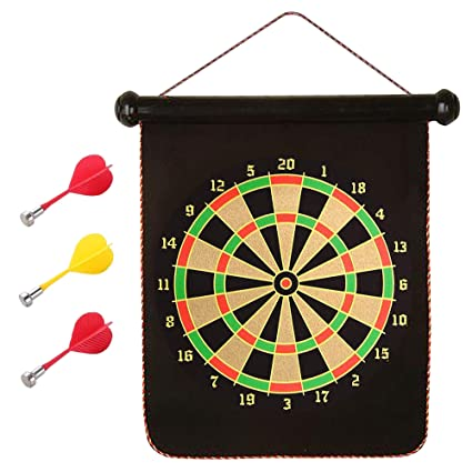 Amazon Com Gamie Magnetic Dart Game Set Includes One 1 Two In 1