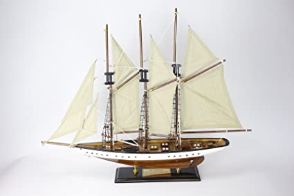 Atlantic Barco Velero 72x56 cms Maqueta Modelismo Madera ...
