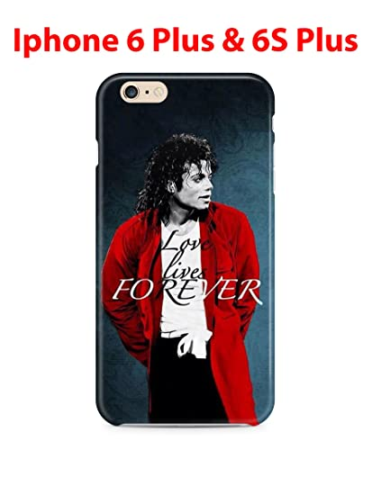 quality design 1ace4 14027 Michael Jackson (for Iphone 6 Plus / Iphone 6s Plus) 5.5in Hard Case Cover  (mike19)