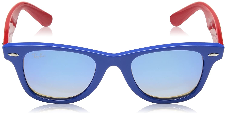 Ray-Ban JUNIOR Rj9066s 7039b7 47 Mm Gafas de sol, Blue, 47 ...