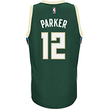 708d797e5326 Amazon.com   adidas Jabari Parker Milwaukee Bucks Road Swingman ...