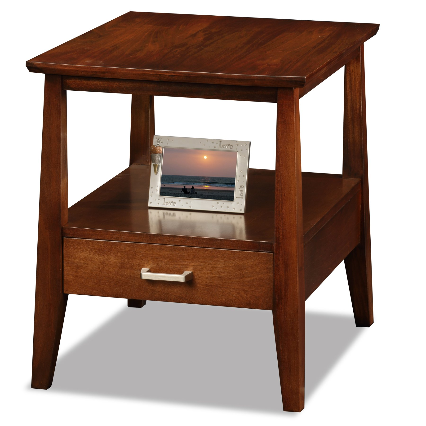 Leick Delton End Table with Drawer