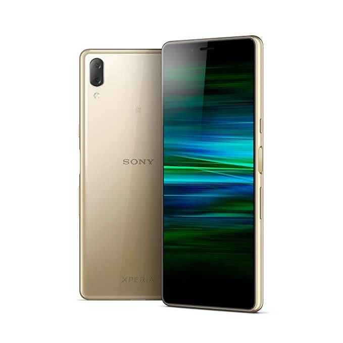 Sony Xperia L3 Smartphone (14, 5 cm (4, 7 Zoll) 18: 9 HD+ Display, 32 GB Speicher, Dual-SIM, Android 9) Gold