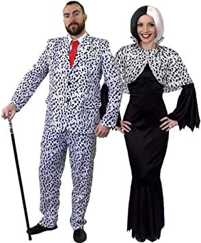 I LOVE FANCY DRESS LTD Parejas DÁLMATA Disfraces DE Halloween para ...