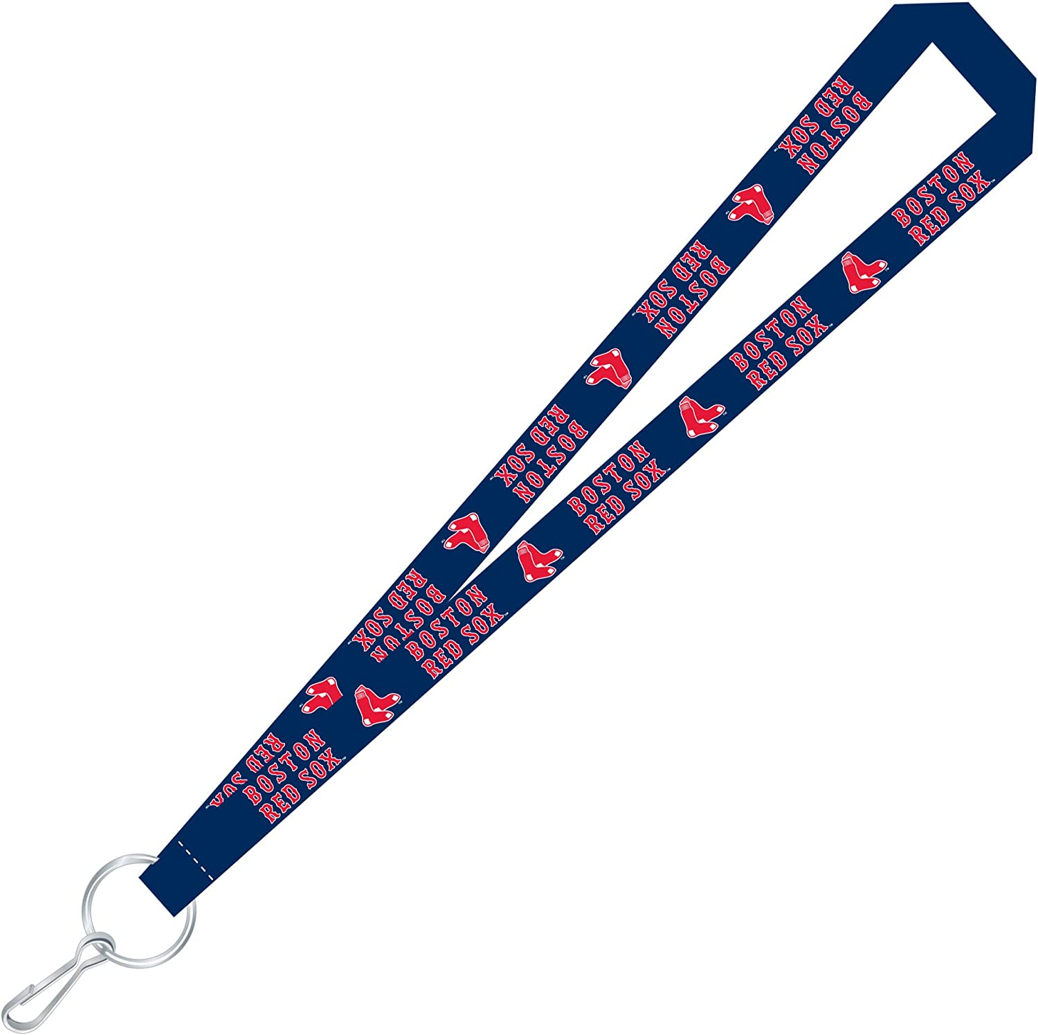 Gray//Black MLB Boston Red Sox Ultra Tech Lanyard