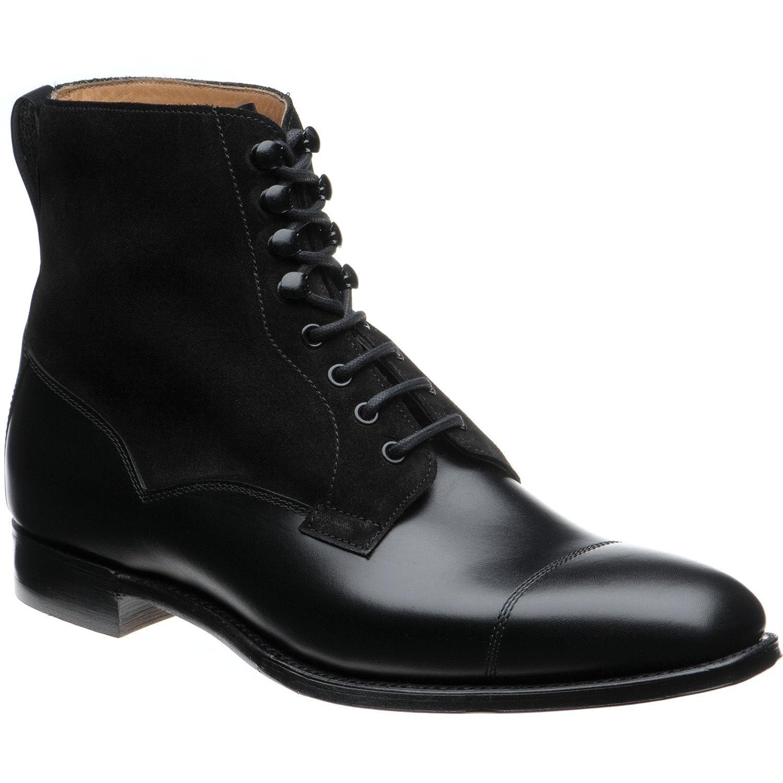 Herring Herring Laverdeon - botas para Hombre negro Calf and Suede -