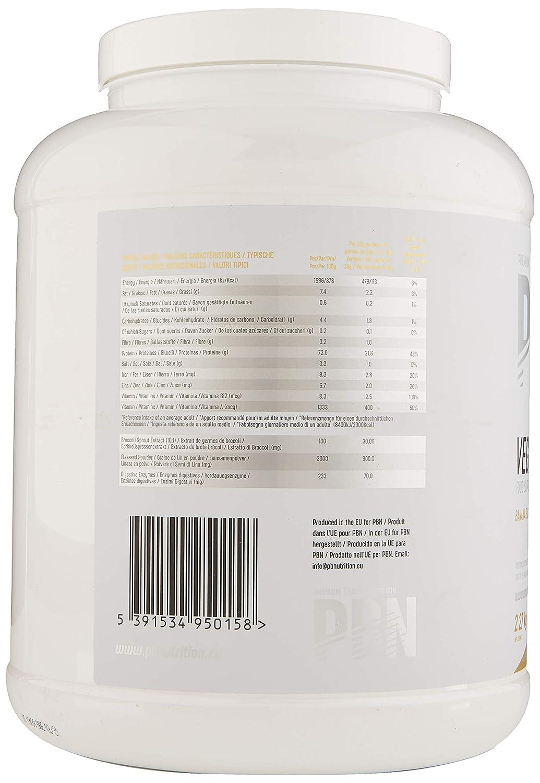 PBN - Bote de proteínas para veganos, 2.27 kg (sabor plátano ...