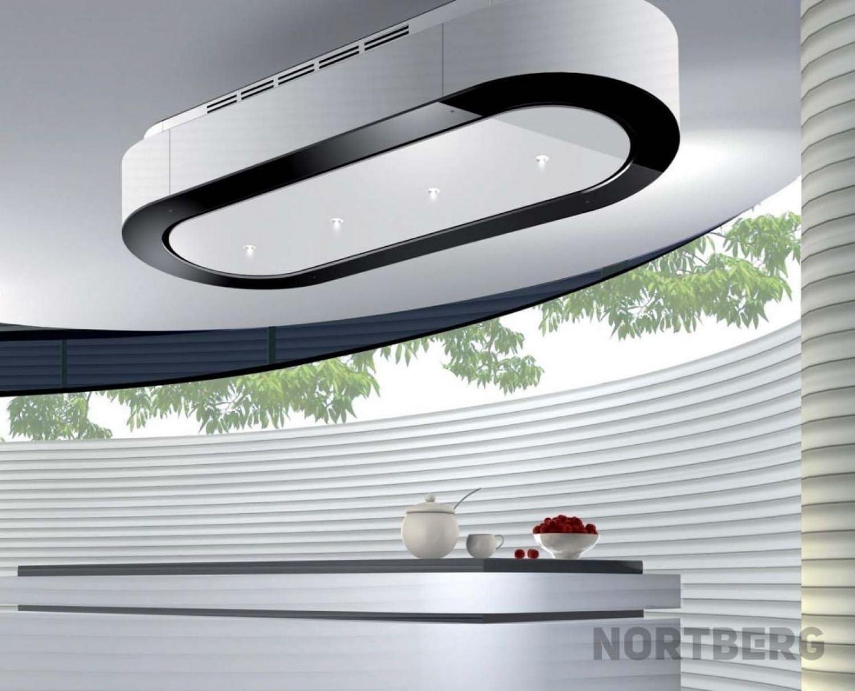 Nortberg Luxima - Campana extractora (acero inoxidable, 120 cm de ancho): Amazon.es: Grandes electrodomésticos