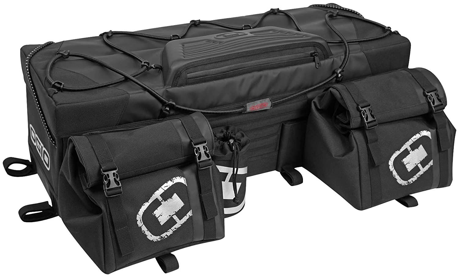 ogio 119003.36 Honcho Rear ATV Bag - Stealth Black