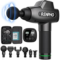 RENPHO Massage Gun, Deep Tissue Muscle Massager, Powerful Percussion Massager Handheld with Portable Case for Athletes…