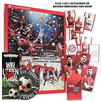 Fc Bayern Munchen Comic Adventskalender Xxl Inkl Autogrammkarten Plus Je 5 X Gratis Lesezeichen Aufkleber Wir Lieben Fussball