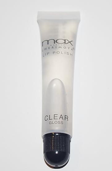 Amazon com : MAX Makeup Cherimoya Lip Polish Clear : Beauty