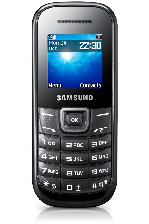Samsung E1200i Keystone 2 Mobile Phone (Sim Free, Black): Amazon.co.uk:  Electronics