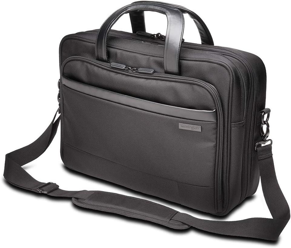 Medium Shoulder Bag for Laptops /& Tablets Kensington K60386EU Laptop Briefcase Hand Luggage Contour 2.0 15.6 Inch Business Laptop Briefcase Water Resistant Secure Bags for Men /& Women Travel Bag