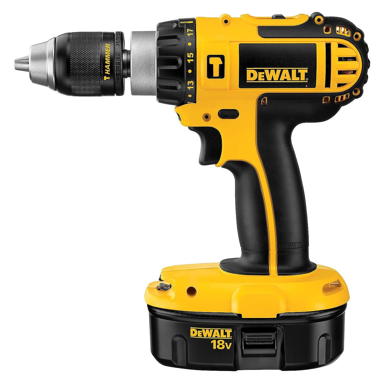 Best Dewalt 18v Hammer Drill Review in 2018 - Drilling Boss